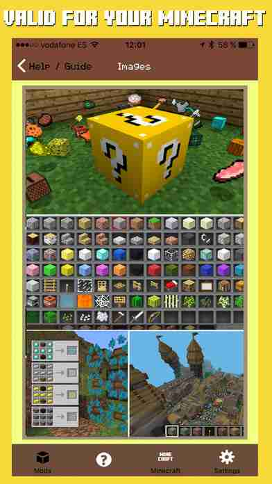 Mods & Lucky Block Mod for Minecraft Game Edition
