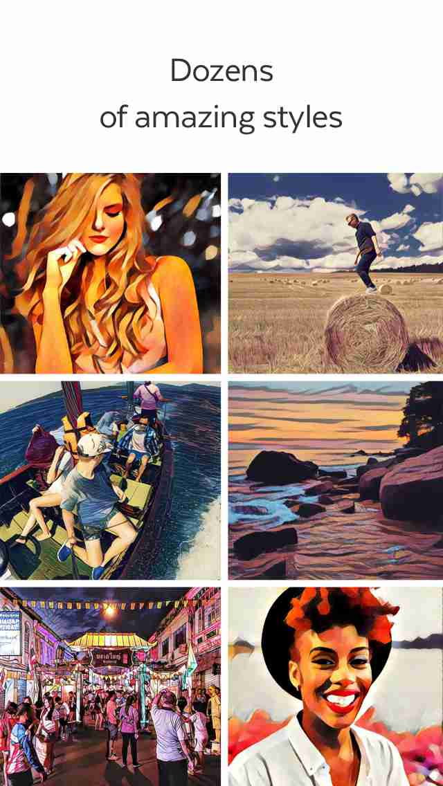 Prisma - art filters and photo effects