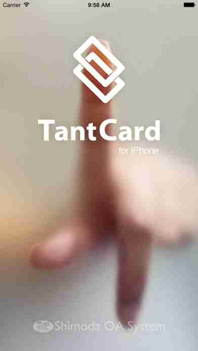 TantCard for iPhone