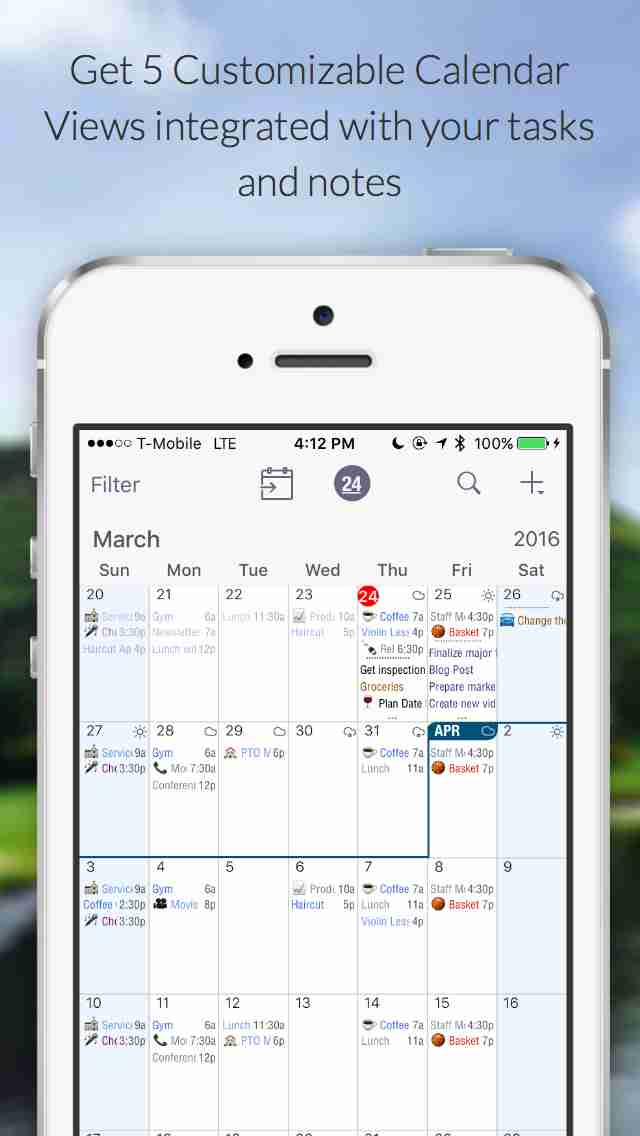 Pocket Informant - Unified Calendar, Tasks, Notes, Contacts