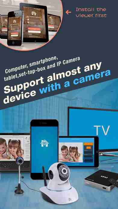 AtHome Video Streamer - IP Camera for home security