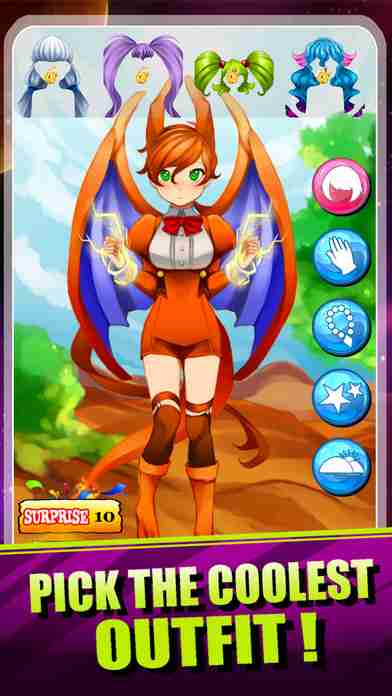 Create Your Own Pokemon Girl - Cool Game for Pokedex Pocket Monster Edition