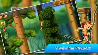 A Jungle Swing - Sonic Rope Dash Physics Games FREE
