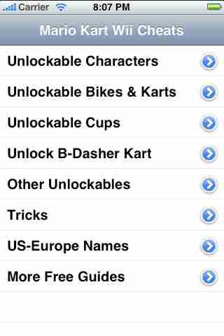 Guide to Mario Kart Wii Cheats - FREE