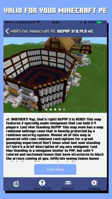Maps for Minecraft PE - Best Database Map for Pocket Edition
