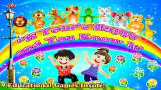 If you're happy and you know it - All In one Educational Activity Center and Sing Along