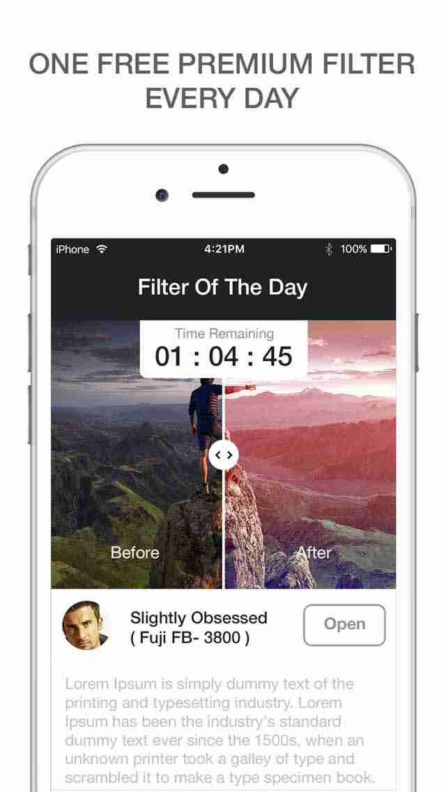 Filter O Day- Photo Filters Camera for Pic Effect and Photos Collage Editor for Instagram and Youtube