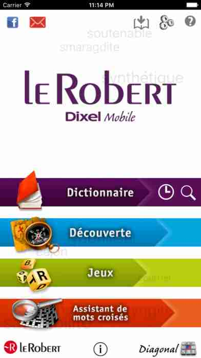 Dictionnaire Le Robert Mobileのスクリーンショット - 3