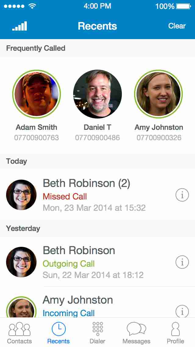 Truphone – Free calls & messages, local or international