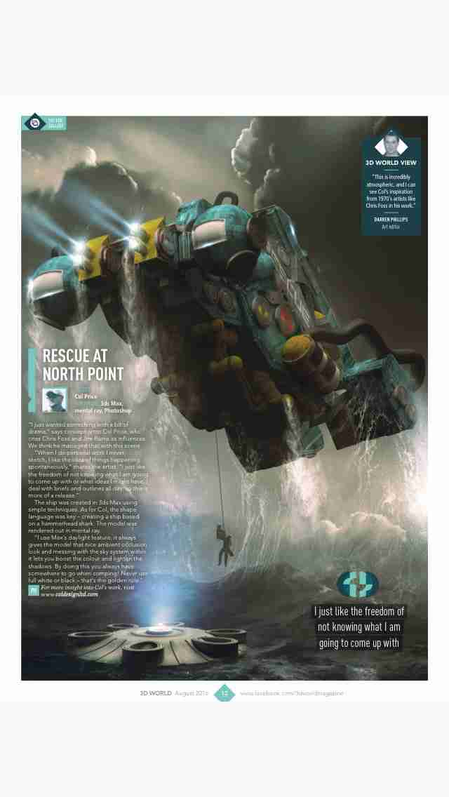 3D World: the CG magazine for animation, VFX and games artistsのスクリーンショット - 3