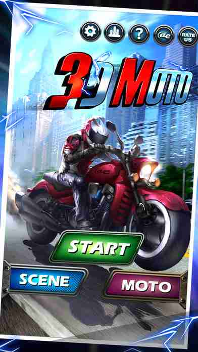 3Dバイク - Moto Racing No Limits