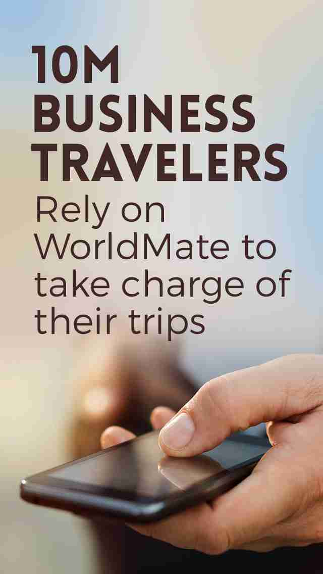WorldMate Travel Plans & Flight Tracker