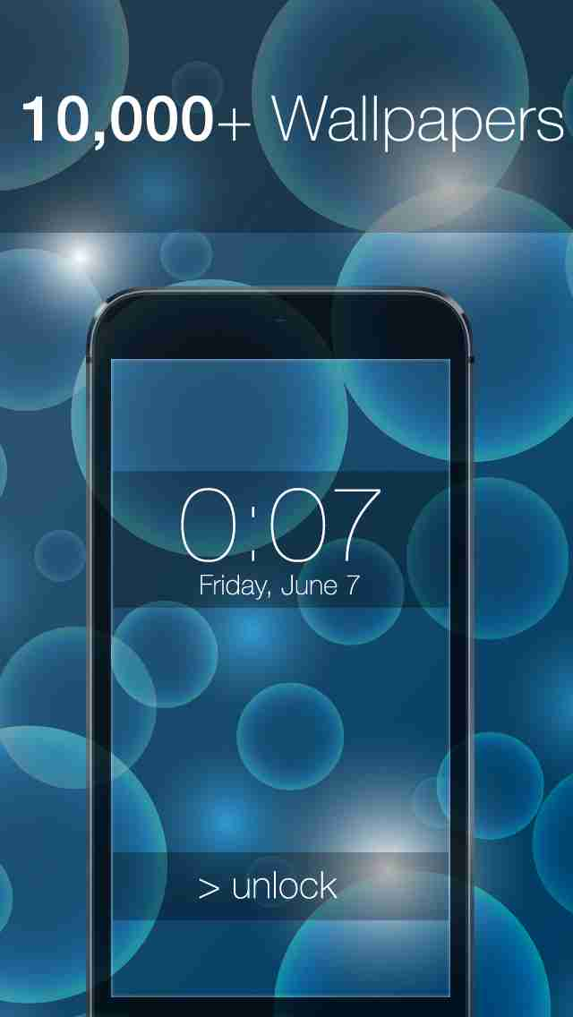 10,000+ LockScreens with ActiveBlur for iOS 8