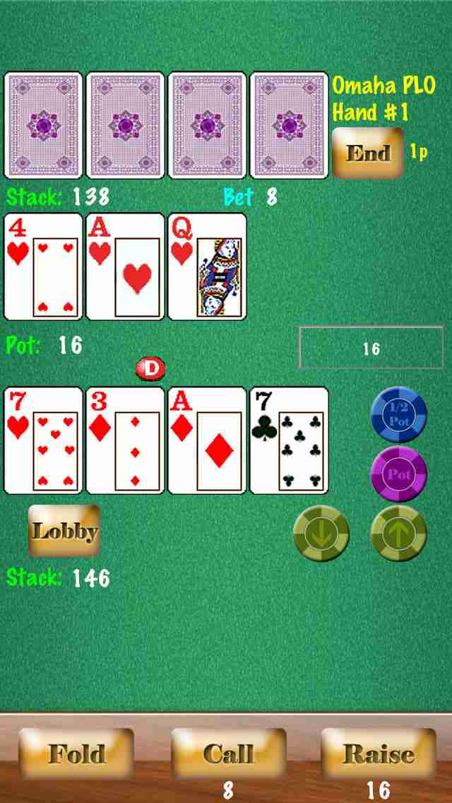 Headsup Poker Free (Hold'em, Blackjack, Omaha)