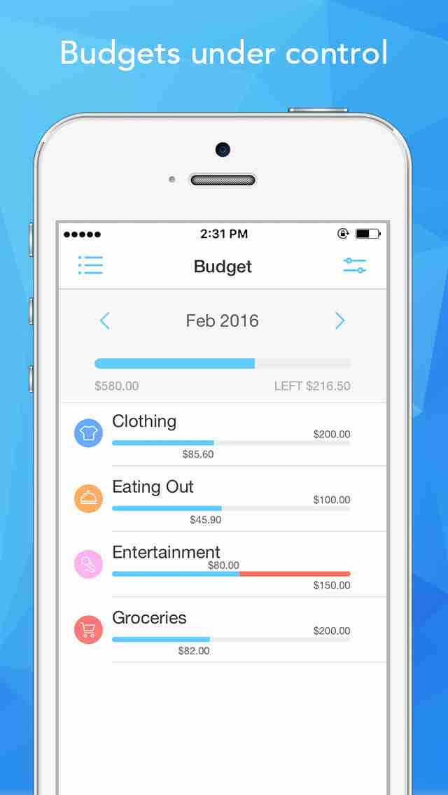 iphone ipad pocket expense personal finance account tracker