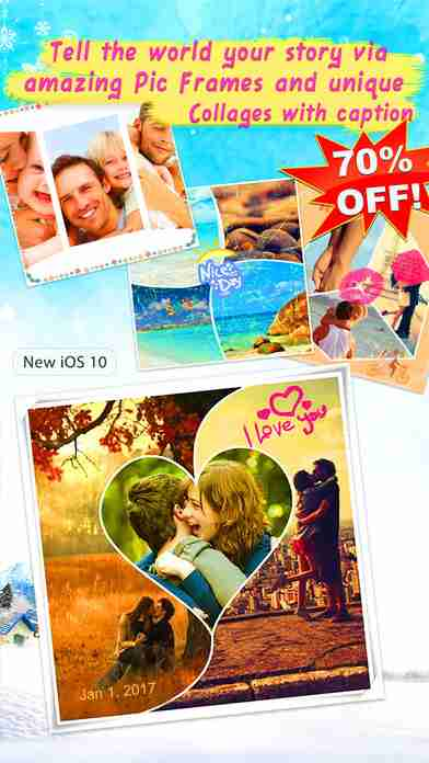 LiveCollage Classic - Instant Collage Maker & FX Editor & Photo Editor