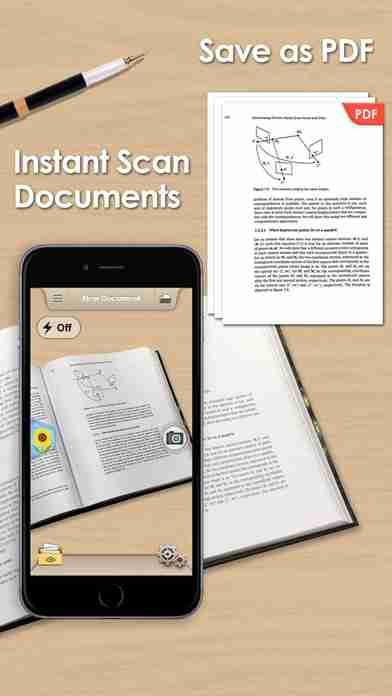 Doc Scan - Scanner to Scan PDF, Print, Fax, Email, and Upload to Cloud Storagesのスクリーンショット - 1