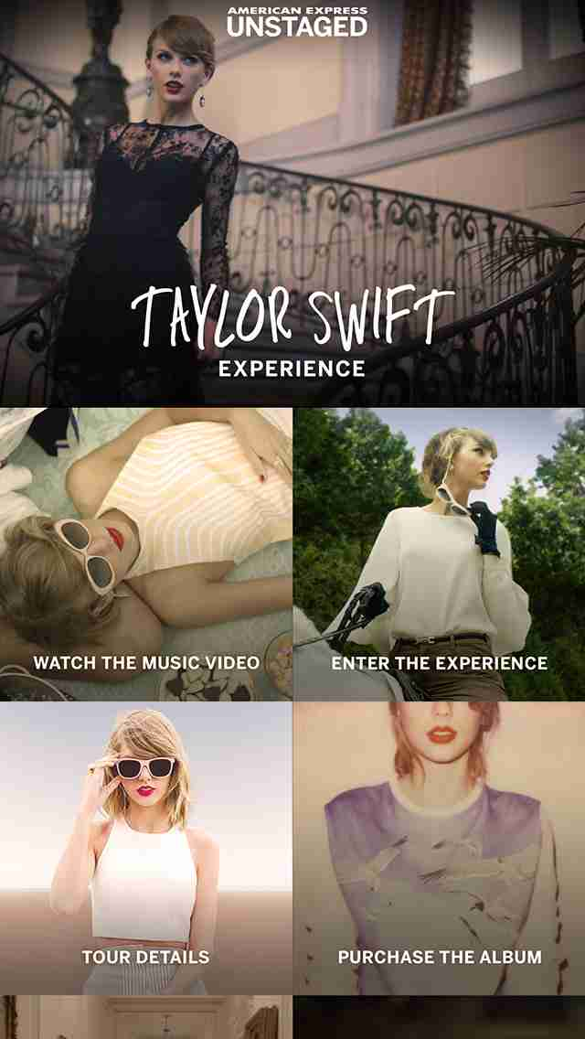 American Express Unstaged - Taylor Swift Experience