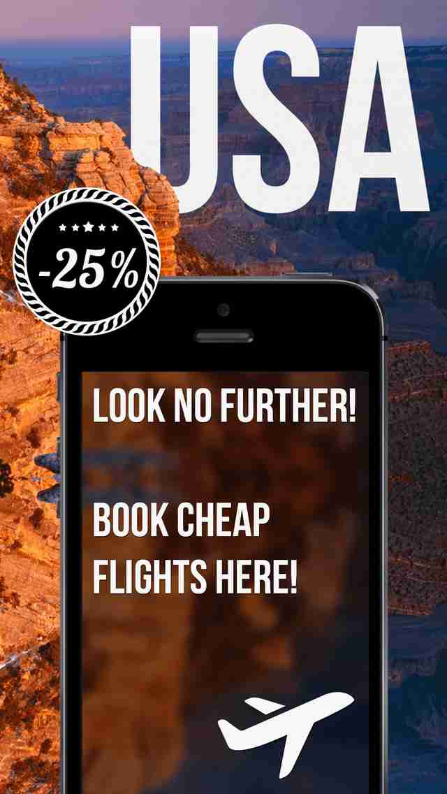 Cheap Flight Bookings - Compare Delta, JetBlue, United, Spirit, and Southwest Dealsのスクリーンショット - 3