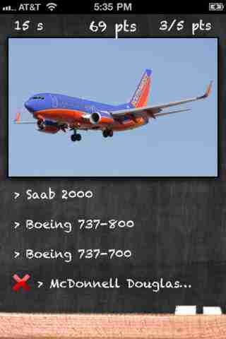 Airplane Quiz - Test Your Passenger Airplane Identification Skillsのスクリーンショット - 1