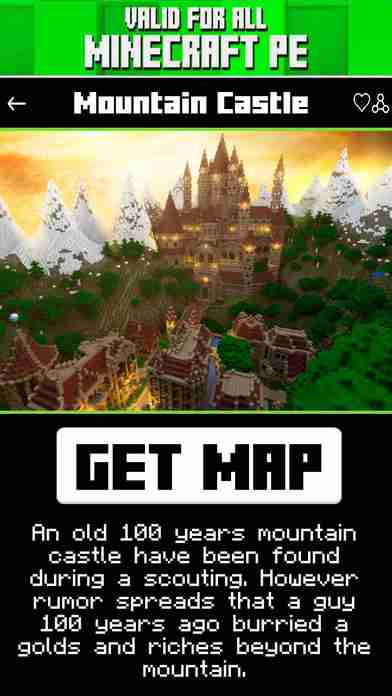 Castle Maps for Minecraft PE ( POCKET EDITION )