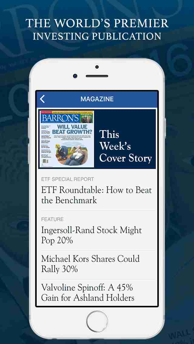 Barron's - The Latest Stock Market & Financial News, with Business & Investment Analysis