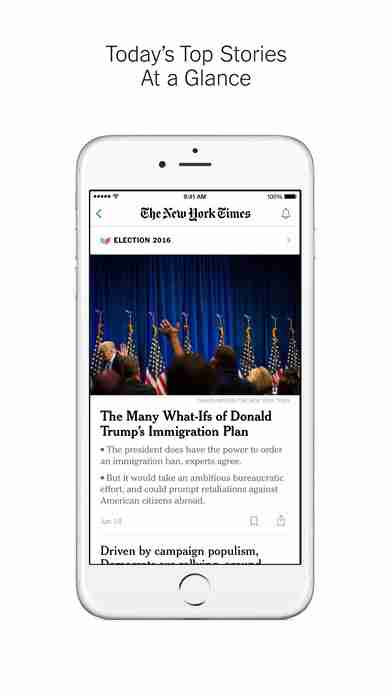 NYTimes – Breaking Local, National & World Newsのスクリーンショット - 2