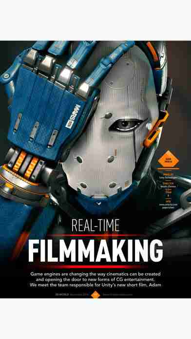 3D World: the CG magazine for animation, VFX and games artistsのスクリーンショット - 7