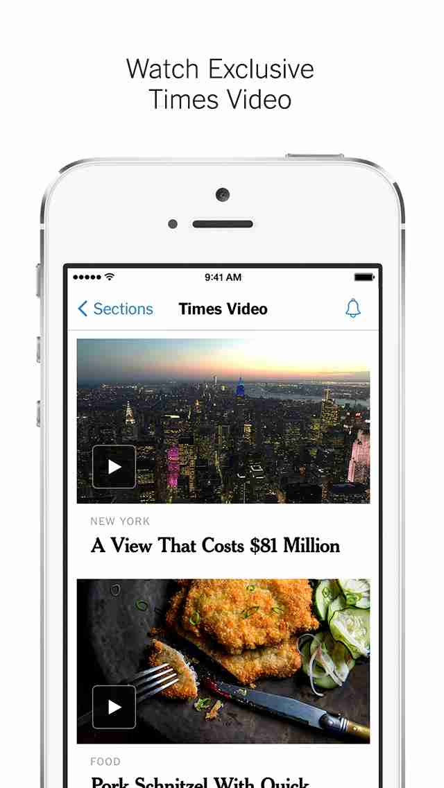 NYTimes – Breaking Local, National & World Newsのスクリーンショット - 3
