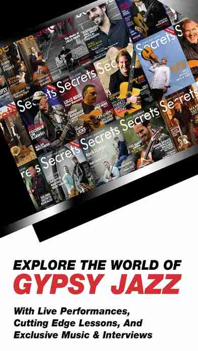 Gypsy Jazz Guitar Secrets Magazine - Learn To Play Guitar Like Django Reinhardtのスクリーンショット - 1