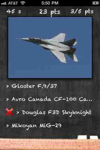 Fighter Jets Quiz Lite - Which Airplane is this?のスクリーンショット - 1