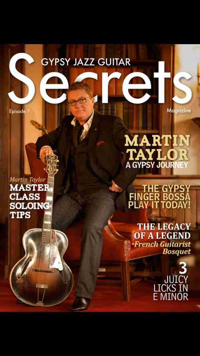 Gypsy Jazz Guitar Secrets Magazine - Learn To Play Guitar Like Django Reinhardtのスクリーンショット - 2
