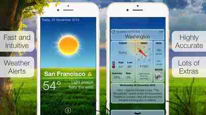 Beautiful Weather: Accurate Forecasts & Severe Weather Alerts for iPhone and iPadのスクリーンショット - 5