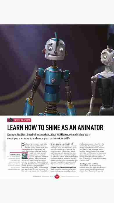 3D World: the CG magazine for animation, VFX and games artistsのスクリーンショット - 9