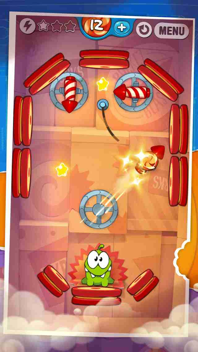 Cut the Rope: Experiments Free (カット・ザ・ロープ:実験)のスクリーンショット - 2