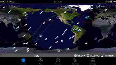 GoSatWatch - Satellite Trackingのスクリーンショット - 5