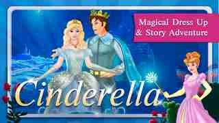 Cinderella Fairy Tale Dress Up and Storybook HDのスクリーンショット - 2