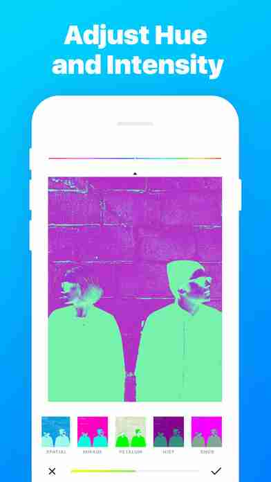 Ultrapop - Collection of Artistic Color Filters and Shapes for Contemporary Art Photo Editsのスクリーンショット - 2