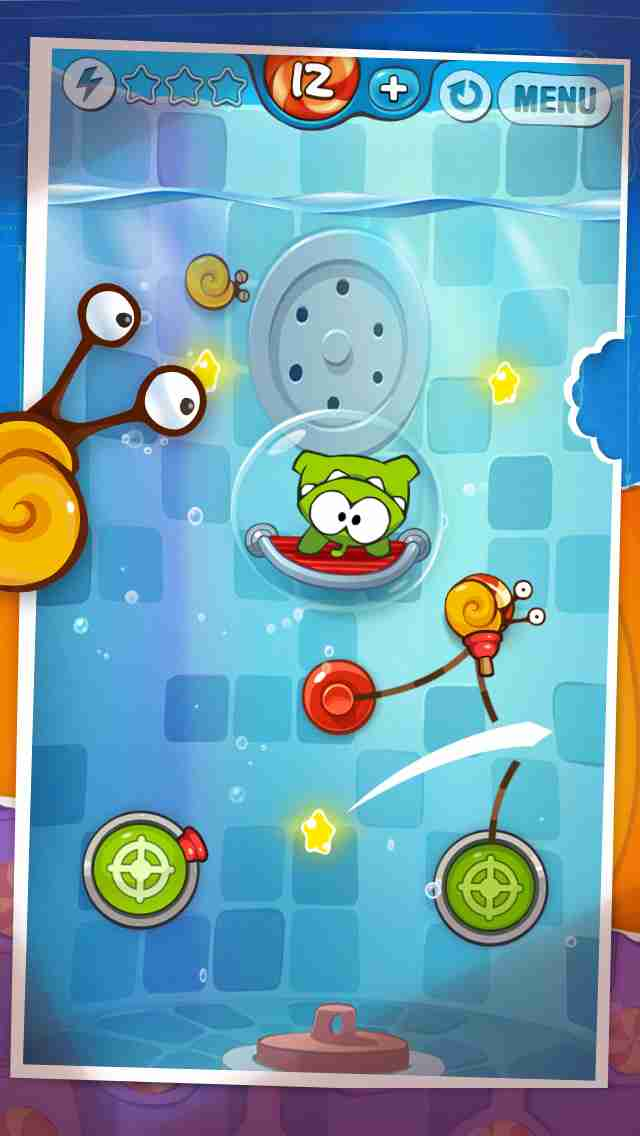 Cut the Rope: Experiments Free (カット・ザ・ロープ:実験)のスクリーンショット - 3