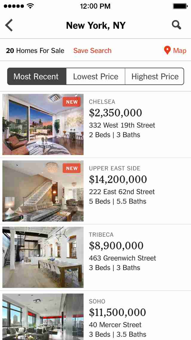 NYTimes Real Estate - Find a Home, Apartment or Condo