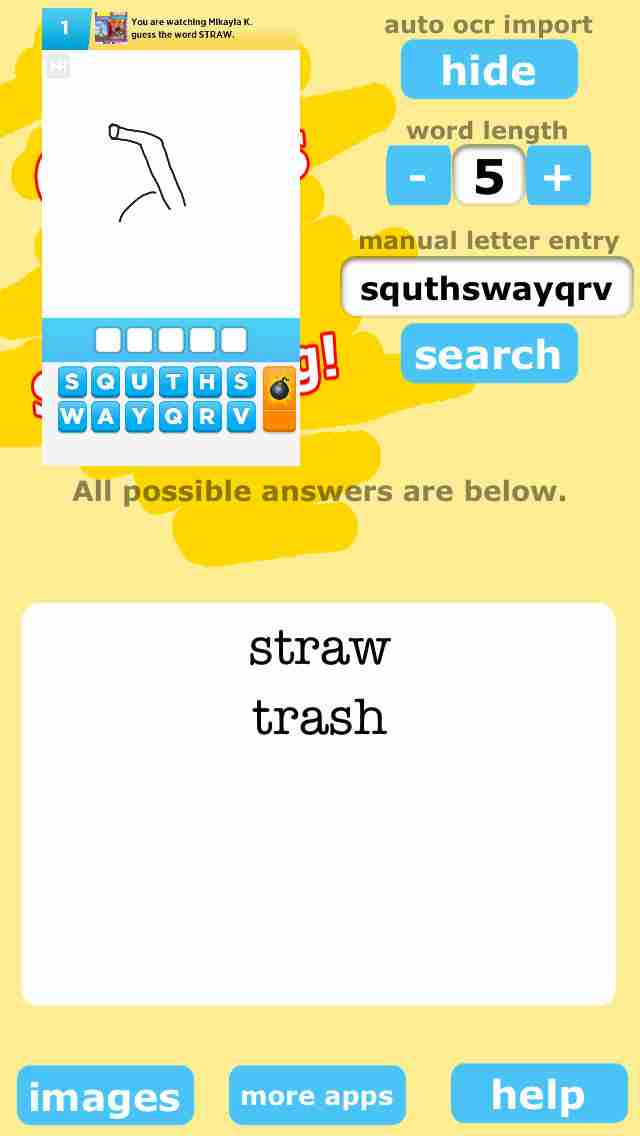All Words for Draw Something Freeのスクリーンショット - 3