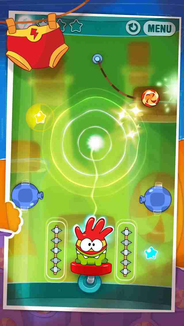 Cut the Rope: Experiments (カット・ザ・ロープ:実験)のスクリーンショット - 4