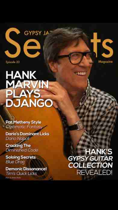 Gypsy Jazz Guitar Secrets Magazine - Learn To Play Guitar Like Django Reinhardtのスクリーンショット - 3