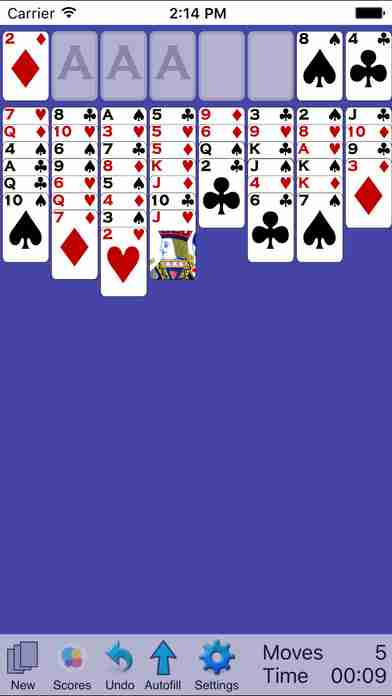Classic Solitaire: Freecell