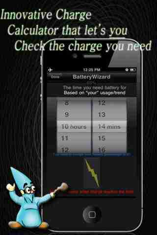 BatteryWizard - themes, full charge, flashlightのスクリーンショット - 2