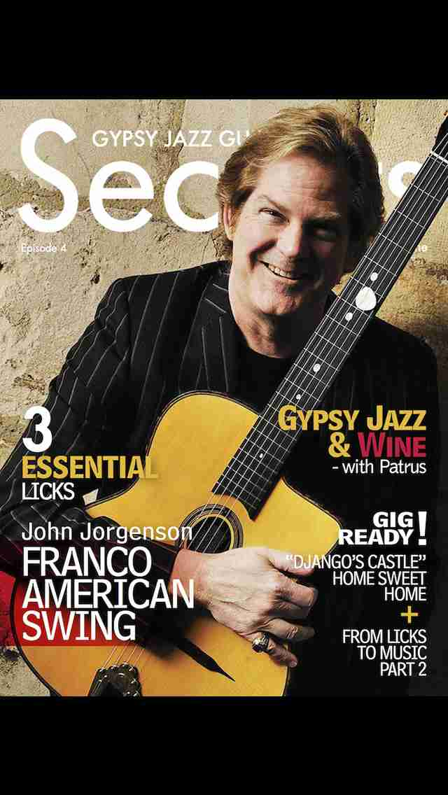 Gypsy Jazz Guitar Secrets Magazine - Learn To Play Guitar Like Django Reinhardtのスクリーンショット - 4