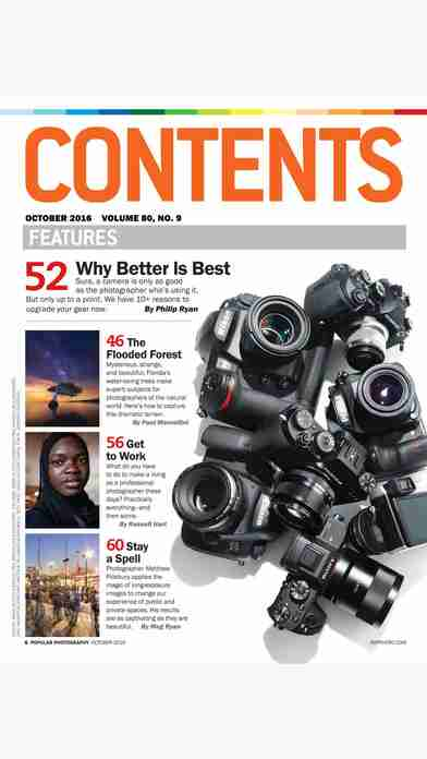 Popular Photography – The leading technical authority, buyer's guide and how-to resource for the photo enthusiast.のスクリーンショット - 18