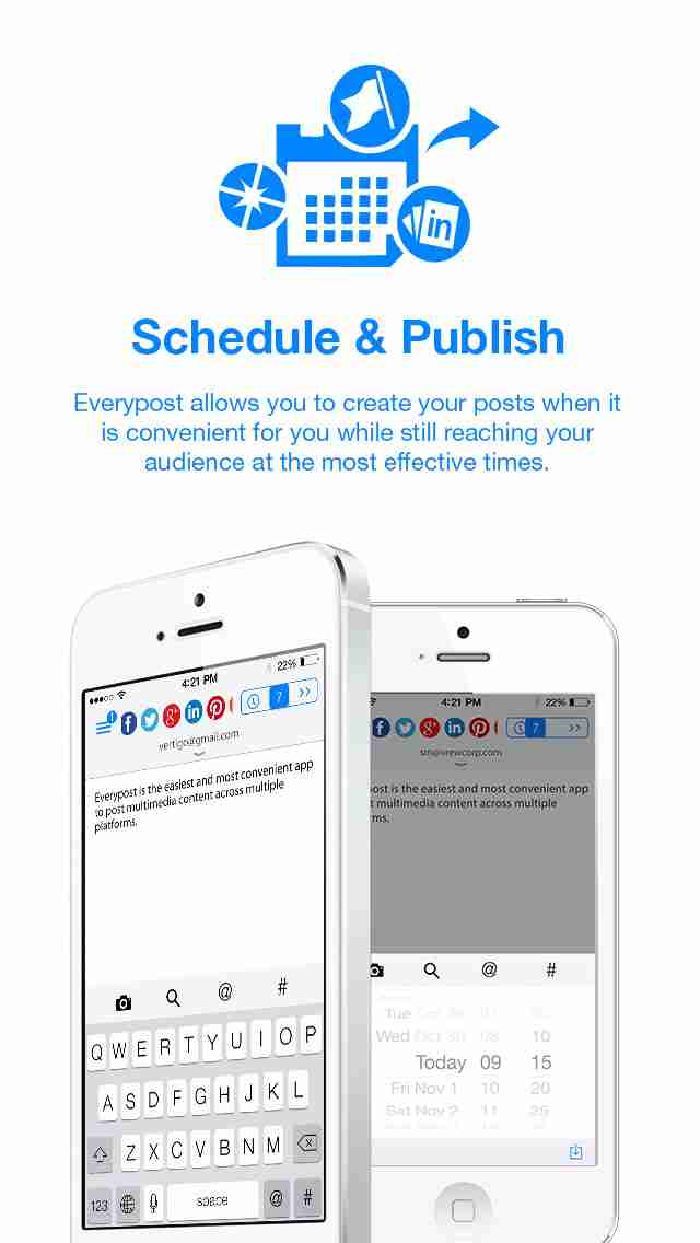 Everypost for Twitter, Facebook & Social Media Schedulingのスクリーンショット - 6