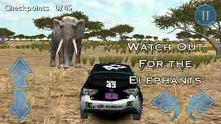 African Rally Race 3D : 4x4 Real Kruger Safari Racingのスクリーンショット - 2
