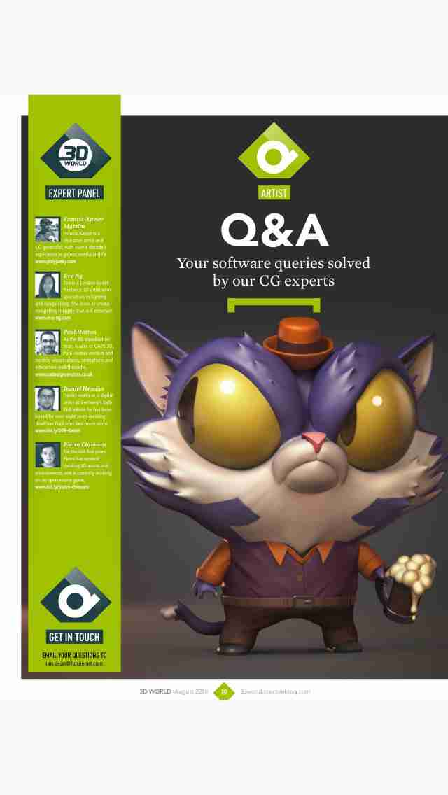 3D World: the CG magazine for animation, VFX and games artistsのスクリーンショット - 16